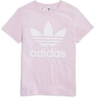 adidas Girls' Logo Graphic Tee - Big Kid