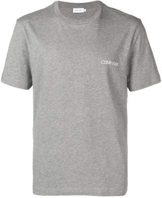 Calvin Klein contrast logo T-shirt