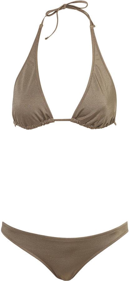 Topshop Triangle Bikini Top and Bikini Pants