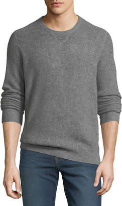 Neiman Marcus Men's Cashmere Thermal Sweatshirt