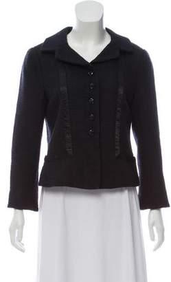 Rebecca Taylor Casual Tweed Blazer