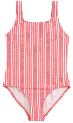 Seafolly Tropical Vibes '80s One-Piece Swimsuit (Little Girls & Big Girls)
