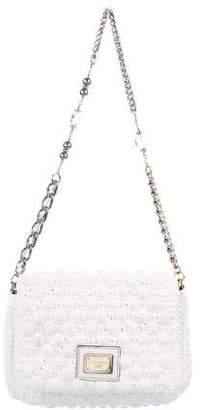 Dolce & Gabbana Embellished Chain-Link Shoulder Bag