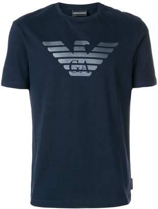 Emporio Armani logo detail T-shirt