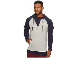 Scotch & Soda Home Alone Double Layer Sporty Hoodie Men's Sweatshirt