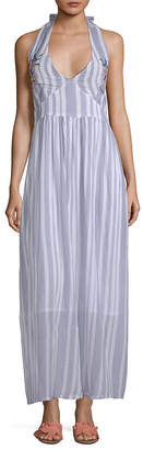 Raga Setting Striped Maxi Dress