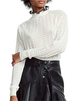 Maje Motif Knitwear