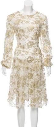 Oscar de la Renta 2016 Midi Dress w/ Tags