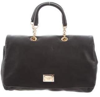 Dolce & Gabbana Smooth Leather Satchel