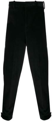 Neil Barrett button cuff trousers
