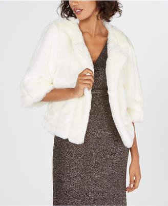 Calvin Klein Faux-Fur Short Jacket