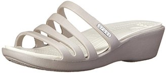 crocs Women's Rhonda Wedge $14.89 thestylecure.com