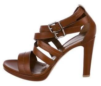 Gianvito Rossi Leather Multistrap Sandals w/ Tags