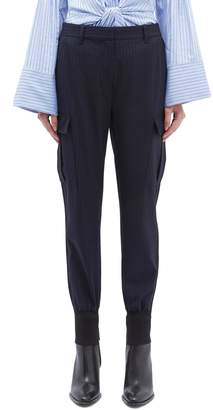 3.1 Phillip Lim Pinstripe cargo jogging pants
