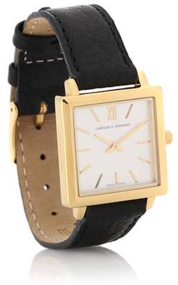 Larsson & Jennings Norse square gold-plated watch