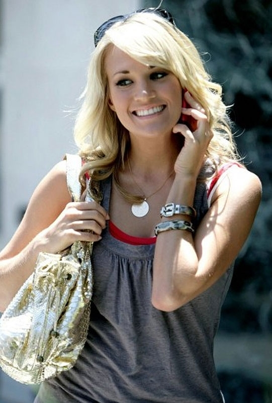 Delicate Raymond Vintage Monogram Necklace as seen on Carrie Underwood