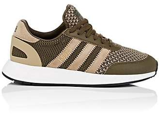adidas MEN'S I-5923 PRIMEKNIT & LEATHER SNEAKERS - OLIVE SIZE 8.5 M