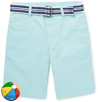 Polo Ralph Lauren Boys Ages 2 - 6 Stretch-Cotton Shorts - Turquoise