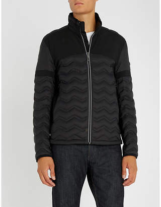 BOSS Quilted shell jacket