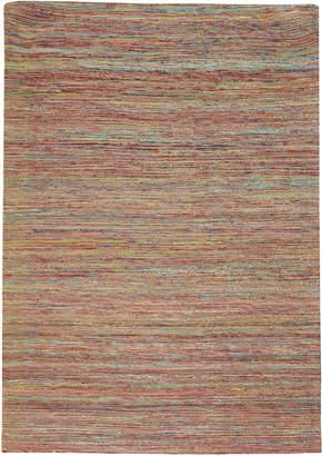 Jaipur Dotts Rugs Red Flat Weave Rug