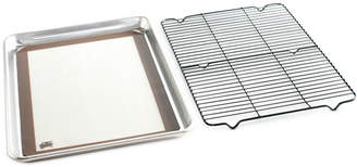 Nordicware 3 Piece Cookie Baking Set - 1 by 2 Sheet, Baking Mat, Cooling Grid