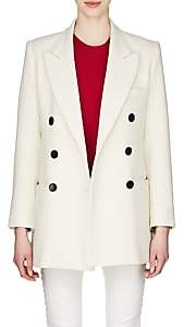 Isabel Marant Women's Kyne Cotton-Blend Double-Breasted Coat-White