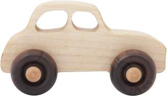 story. Wooden Wooden 50s' Car