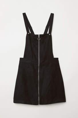 H&M Bib Overall Dress - Black