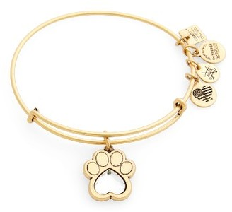 Women's Alex And Ani Prints Of Love Adjustable Wire Bangle $34 thestylecure.com