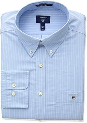 Gant Men's The Broadcloth Pinstripe Regular Fit Button Down Shirt