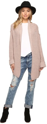Free People Low Tide Cardigan Sweater $128 thestylecure.com