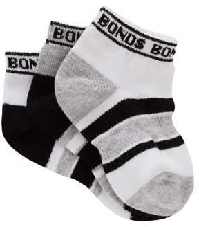 Bonds Baby Sportlet Socks 3 Pack