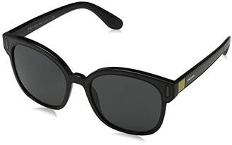 Prada Women's 0PR05US 07E5S0 Sunglasses, Black Yellow/Grey