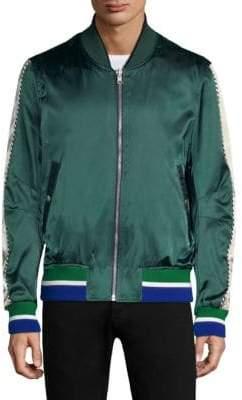 Tommy Hilfiger Edition Edition Men's Reversible Flight Bomber Jacket - Sky - Size 50 (40)