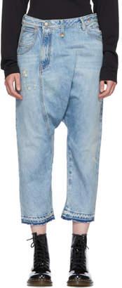 R 13 Blue Twister Jeans