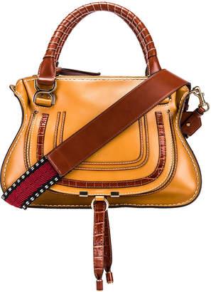 Chloé Medium Marcie Double Carry Bag in Autumnal Brown | FWRD