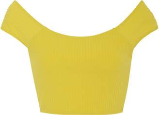 Mara Hoffman Naomi Ribbed Bikini Top
