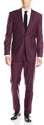 Alain Dupetit Men's Two Button Tr Blend Suit