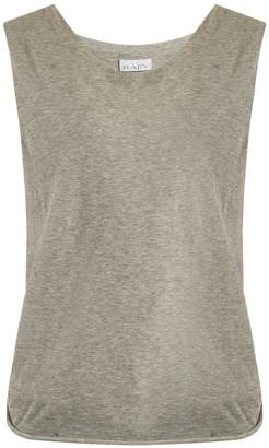 Raey Knot-back cotton-jersey tank top