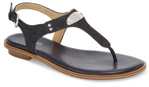 MICHAEL Michael Kors 'Plate' Thong Sandal