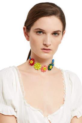 Venessa Arizaga Happy Flowers Necklace