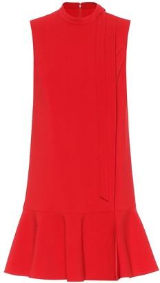 Valentino Stretch-wool minidress