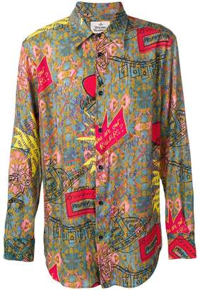 Vivienne Westwood all over print shirt