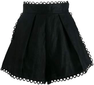 Zimmermann Allia high waist shorts