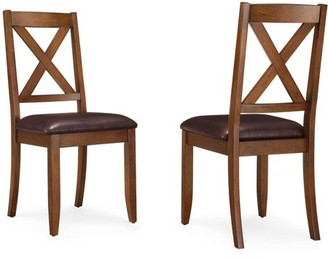 Better Homes & Gardens Better Homes and Gardens Maddox Crossing Dining Chair, Set of 2, Brown
