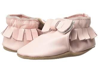 Robeez Premuim Leather Moccasin Maggie Soft Sole (Infant/Toddler)