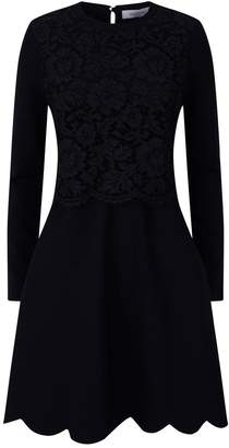 Valentino Lace Top Dress