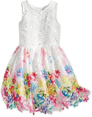 Nanette Lepore Printed Lace Dress, Big Girls (7-16) $98.50 thestylecure.com