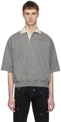Fear Of God Grey Short Sleeve Heavy Terry Polo