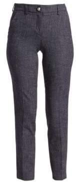 Emporio Armani Denim Effect Cropped Pants